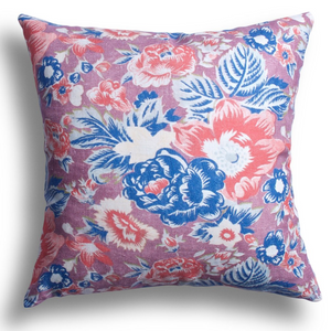 Summer Palace Pillow in Coral