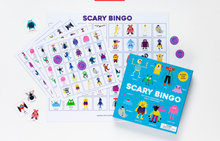Load image into Gallery viewer, Scary Bingo: Fun with Monsters and Crazy Creatures