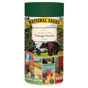 National Parks 1000 Piece Puzzle, Cavallini & Co.