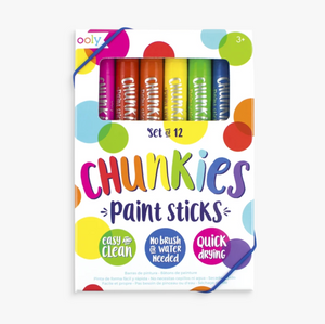 Chunkies Paint Sticks (Set of 12), Ooly