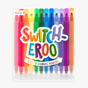 Switch-Eroo Color Changing Markers (Set of 12), Ooly