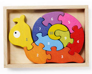 Number Snail Learning Puzzle