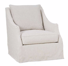Load image into Gallery viewer, Kate Slipcovered Swivel Chair