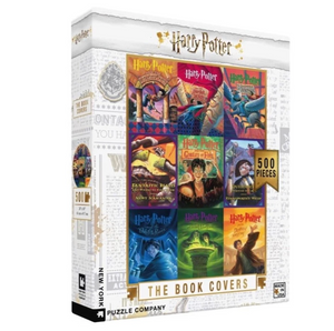 Harry Potter Book Cover Collage Puzzle