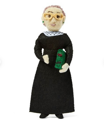 Ruth Bader Ginsberg Handmade Collectible