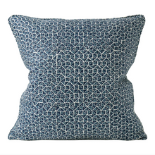 Load image into Gallery viewer, Notto Denim Linen Cushion