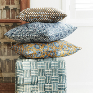 Notto Denim Linen Cushion