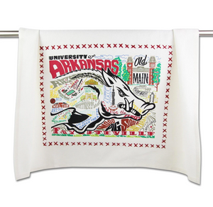University of Arkansas Dish Towel