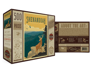Shenandoah Puzzle, True South