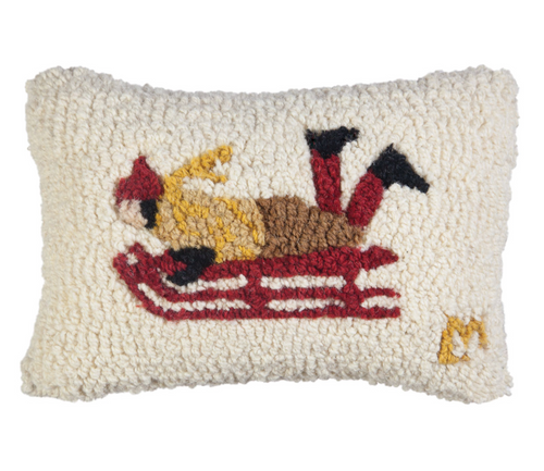 Sledder Mini Pillow