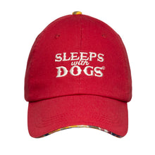 Load image into Gallery viewer, Sleeps With Dogs Caps