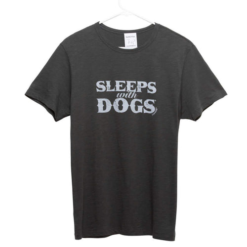 Sleeps With Dogs Unisex T-Shirt