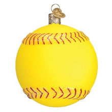 Load image into Gallery viewer, Softball Ornament