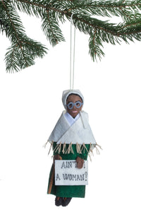 Sojourner Truth Handmade Felt Ornament
