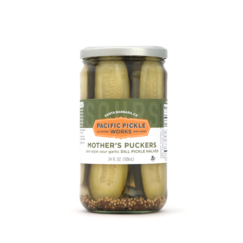 Mother's Puckers - Sour Garlic Dill Pickles