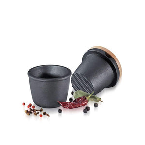 Cast Iron Spice Grinder Set
