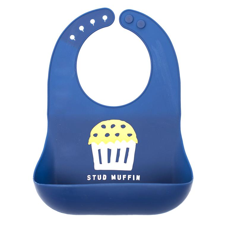 Stud Muffin Wonder Bib, Bella Tunno