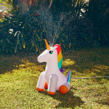Load image into Gallery viewer, Inflatable Unicorn Sprinkler