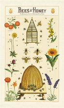Load image into Gallery viewer, Bees & Honey Tea Towel, Cavallini