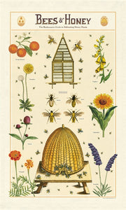 Bees & Honey Tea Towel, Cavallini