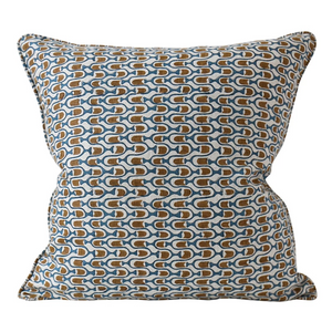 Tappan Tobacco Linen Cushion