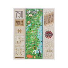 Load image into Gallery viewer, Appalachian Trail Puzzle, True South