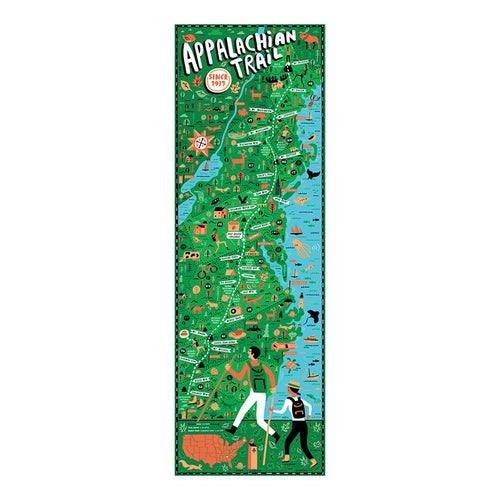 Appalachian Trail Puzzle, True South