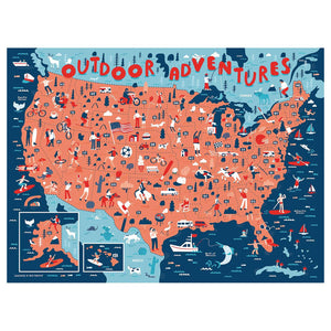 Outdoor Adventures Puzzle, True South