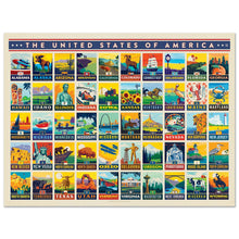 Load image into Gallery viewer, American States Puzzle, True South