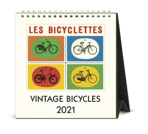2021 Vintage Bicycles Desk Calendar, Cavallini & Co.