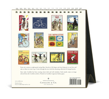 Load image into Gallery viewer, 2021 Vintage Bicycles Desk Calendar, Cavallini & Co.
