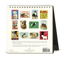 Load image into Gallery viewer, 2021 Vintage Dogs Desk Calendar, Cavallini & Co.