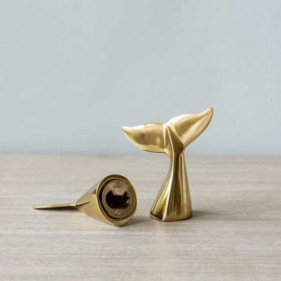 Whale's Tail Bottle Opener