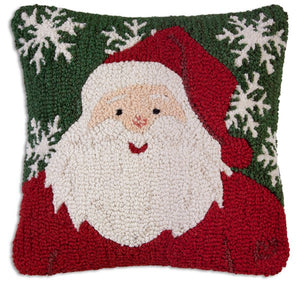 Winter Santa Pillow