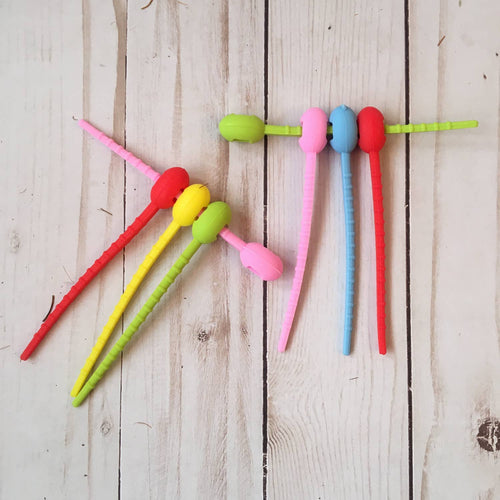 Eco-Friendly Silicone Zip Ties