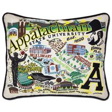 Load image into Gallery viewer, Appalachian State University, Catstudio Collegiate Embroidered Pillow