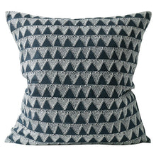 Load image into Gallery viewer, Bantu Indian Teal Cushion