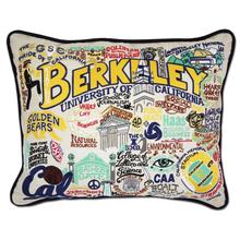 Load image into Gallery viewer, Berkeley, Catstudio Collegiate Embroidered Pillow