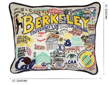 Berkeley, Catstudio Collegiate Embroidered Pillow