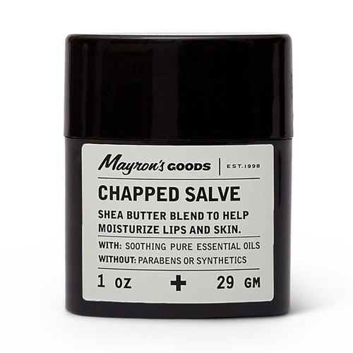Chapped Salve with Shea Butter, Mayron's Goods