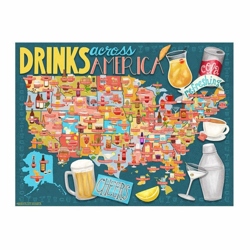 Drinks Across American Puzzle, True South
