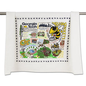 Georgia Tech Dish Towel