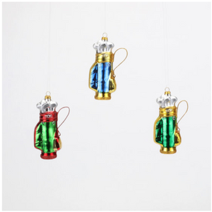 Golf Bag Ornaments