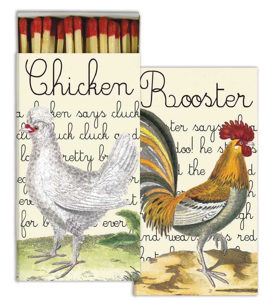 Rooster & Chicken Matches