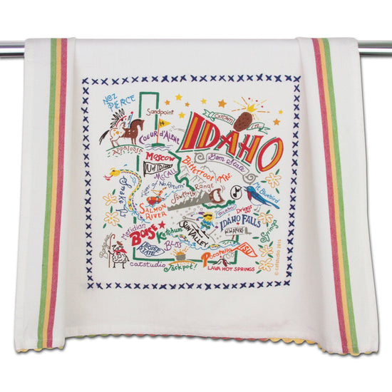 State of Idaho Dish Towel