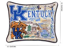 Load image into Gallery viewer, University of Kentucky, Catstudio Collegiate Embroidered Pillow