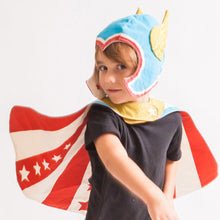Load image into Gallery viewer, Reversible Hero Cape - Pink or Blue, Lovelane Design