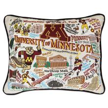University of Minnesota, Catstudio Collegiate Embroidered Pillow