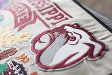 Load image into Gallery viewer, Mississippi State University, Catstudio Collegiate Embroidered Pillow