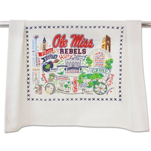 Ole Miss Dish Towel